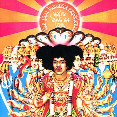 Jimi Hendrix Axis Bold as Love