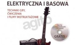 Gitara elektryczna i basowa. Techniki gry, ćwiczenia i filmy instruktażowe
