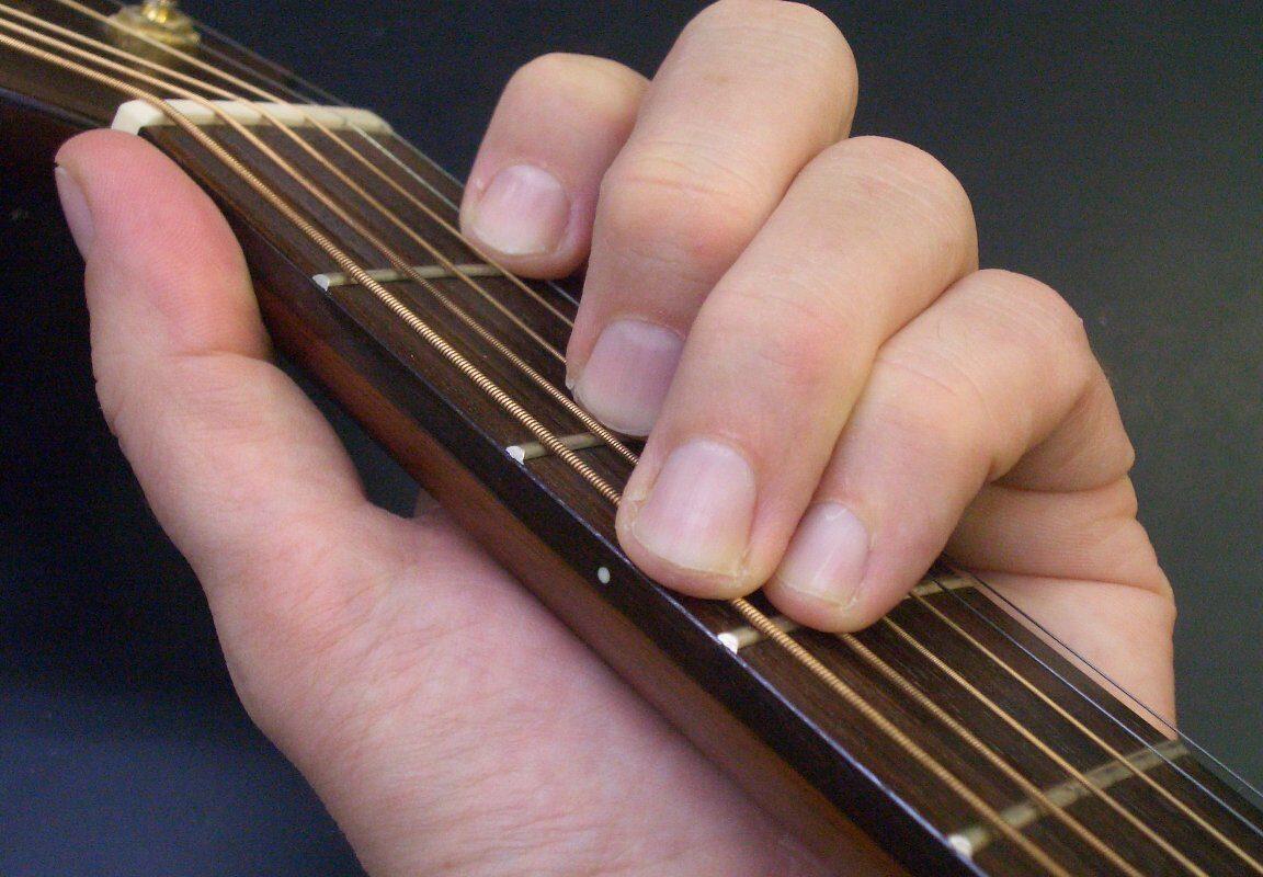 C-dur – podstawowy akord gitarowy