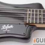 Hofner Shorty Bass Guitar – Contemporary 05