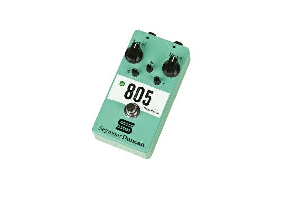 Seymour Duncan 805 Overdrive – mini-test efektu gitarowego