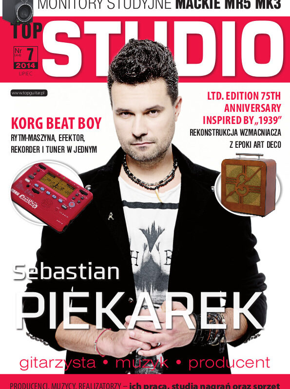 "Sebastian ""Seba"" Piekarek w dodatku TopStudio"