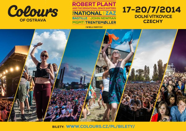 13. edycja Colours of Ostrava już za kilka dni!