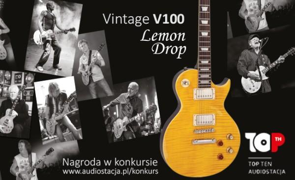 Wygraj gitarę elektryczną Vintage lub Forda Fiestę!