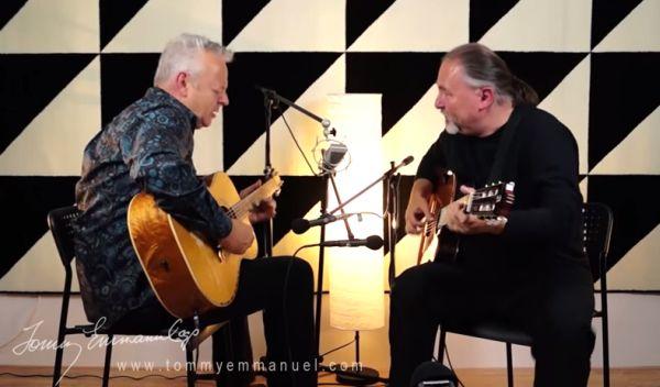 "Tommy Emmanuel & Igor Presnyakov ""You Can Call Me Al"""