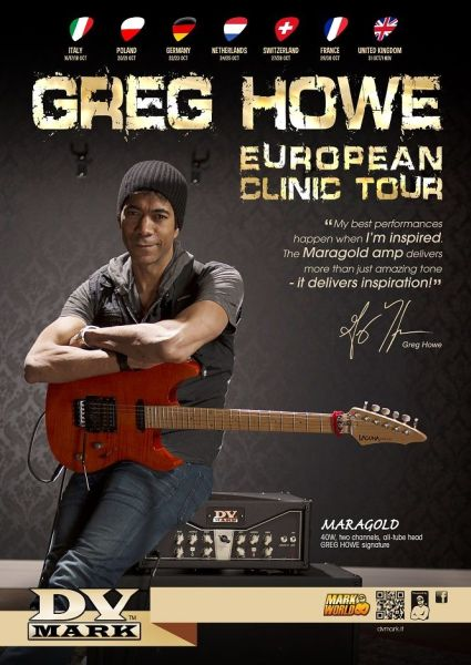 Greg Howe clinics tour