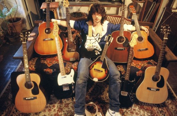 Jason Becker and Guitars