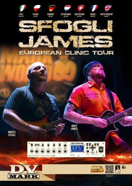 DV MARK European Clinic Tour 2014