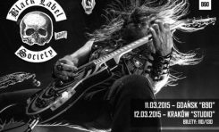 Black Label Society na dwóch koncertach
