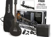 Epiphone LP Performance Pack Ebony EB
