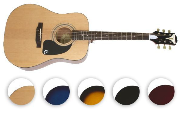 Epiphone Pro-1: nowa seria gitar akustycznych