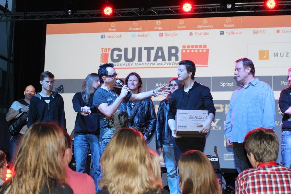 Gitarowy Top 2014 - Krzysztof Wegrzynski - III miejsce