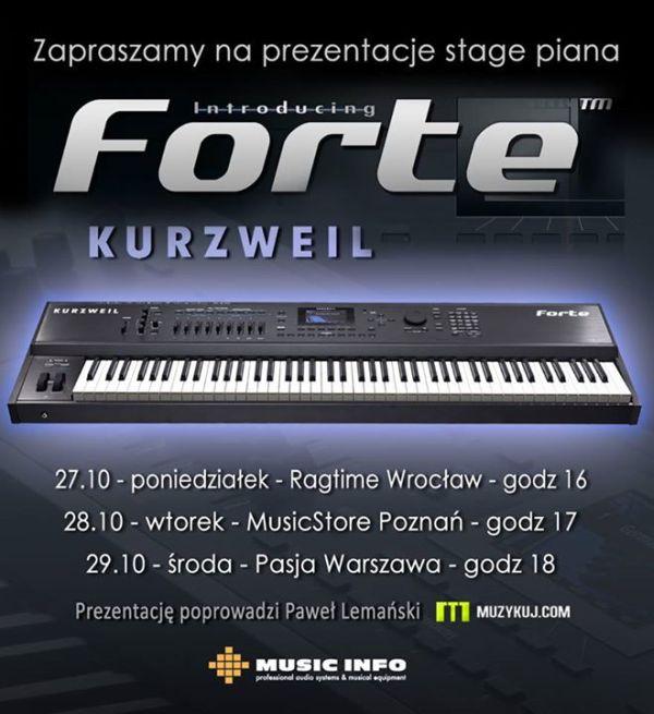 Prezentacje Kurzweil FORTE