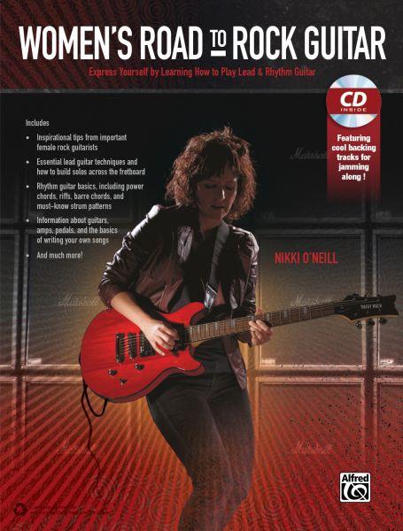 """Nikki O'Neill """"Women's Road to Rock Guitar"""""""