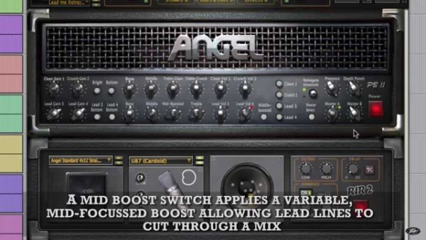 Nowe brzmienie Peavey ReValver 4: Angel