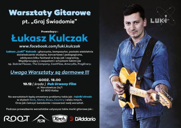 Darmowe warsztaty Łukasza Kulczaka w Kaliszu