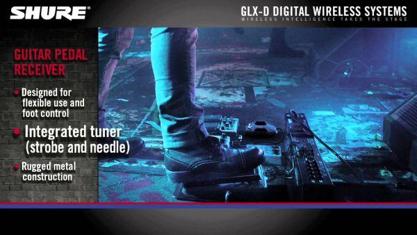 Systemy bezprzewodowe Shure GLX-D