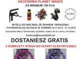 Promocja D'Addario / Planet Waves