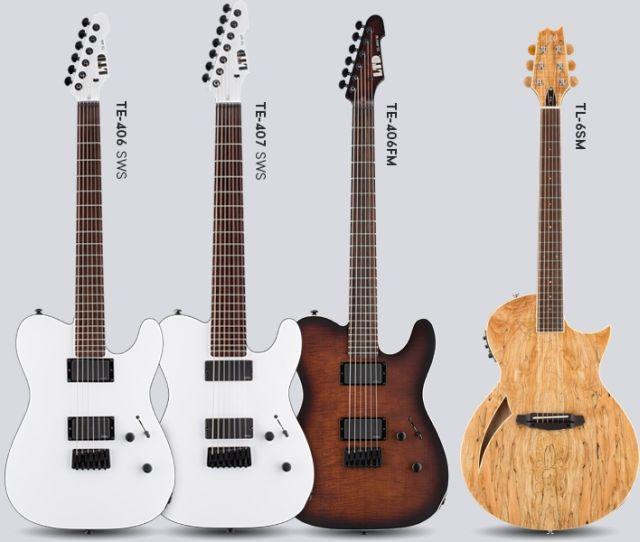 Nowe gitary ESP LTD z serii TE oraz TL