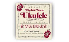 Nowe struny D'Addario do ukulele