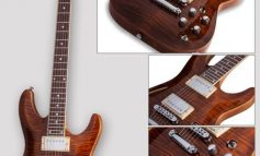 Schecter C-1 E/A Tigers Eye