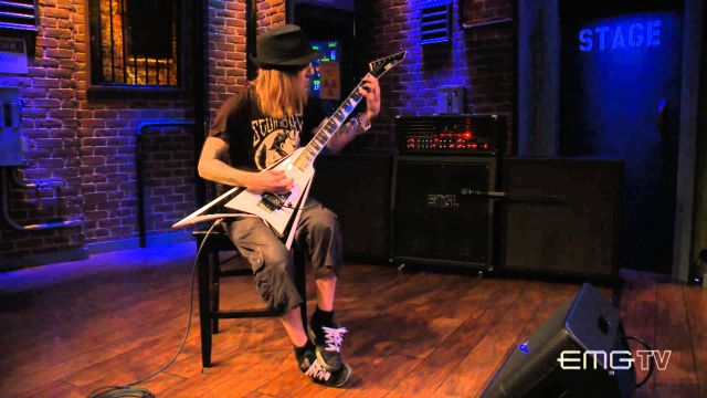 Alexi Laiho (Children of Bodom) w EMG TV