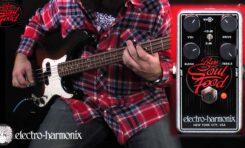EHX Bass Soul Food - nowy efekt basowy