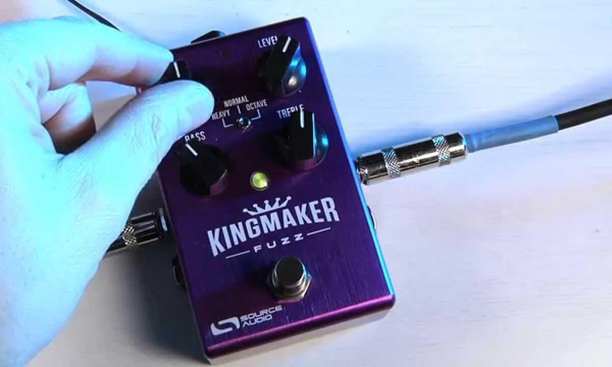 Source Audio Kingmaker Fuzz na NAMM 2015
