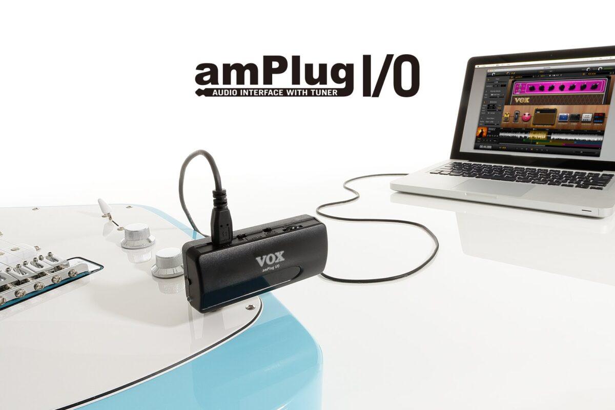 Miniaturowy interfejs gitarowy Vox AmPlug I/O