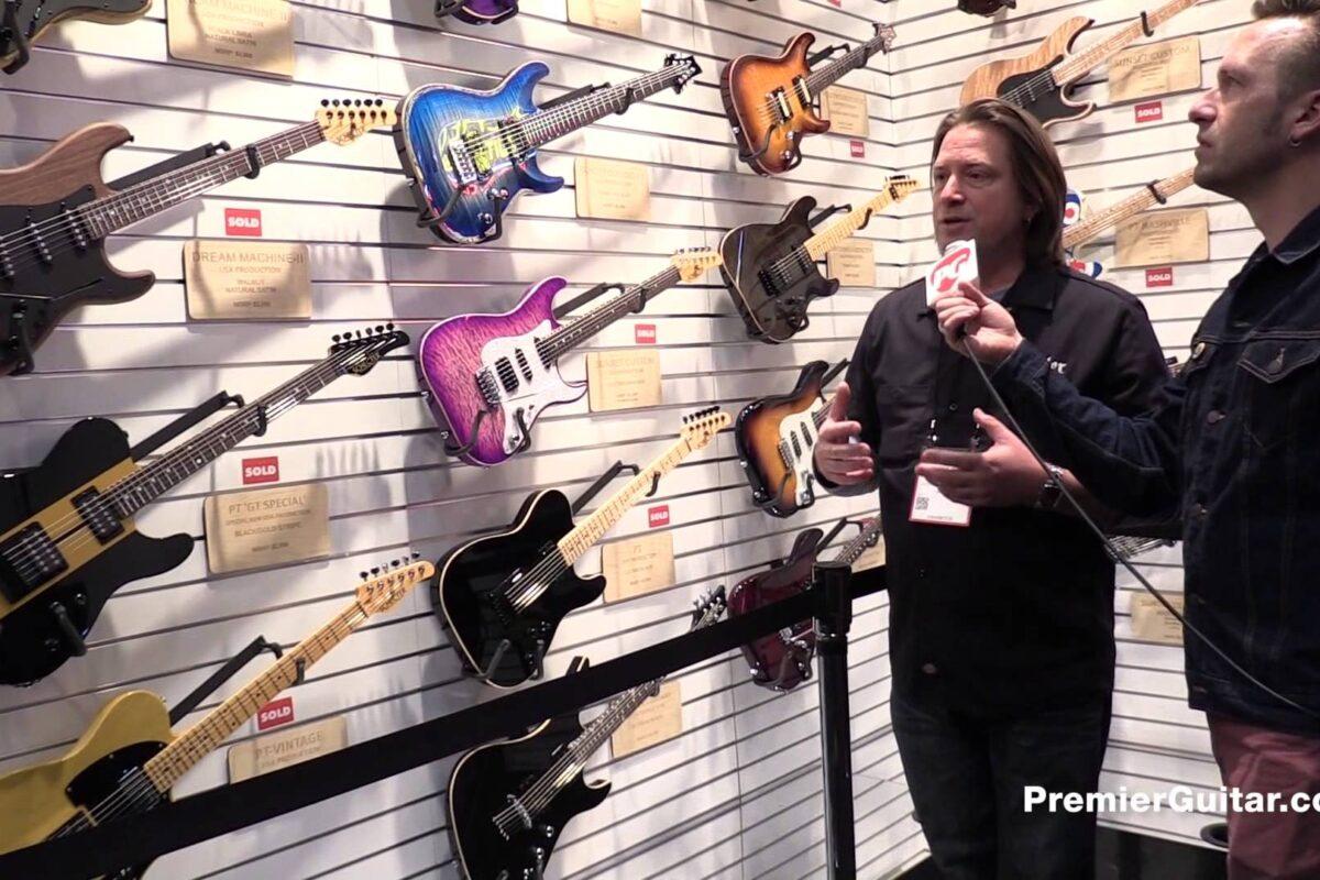 Gitary Schecter Banshee Elite Series na NAMM Show 2015