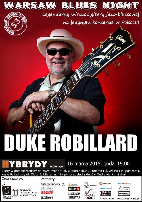 Duke Robillard w warszawskich Hybrydach