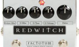 Red Witch Factotum Bass Suboctave Drive – test efektu basowego