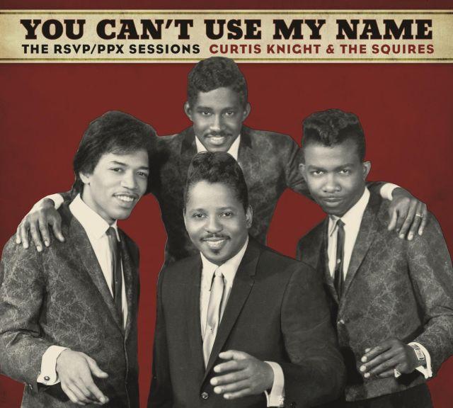 Jimi Hendrix i Curtis Knight & The Squires na płycie