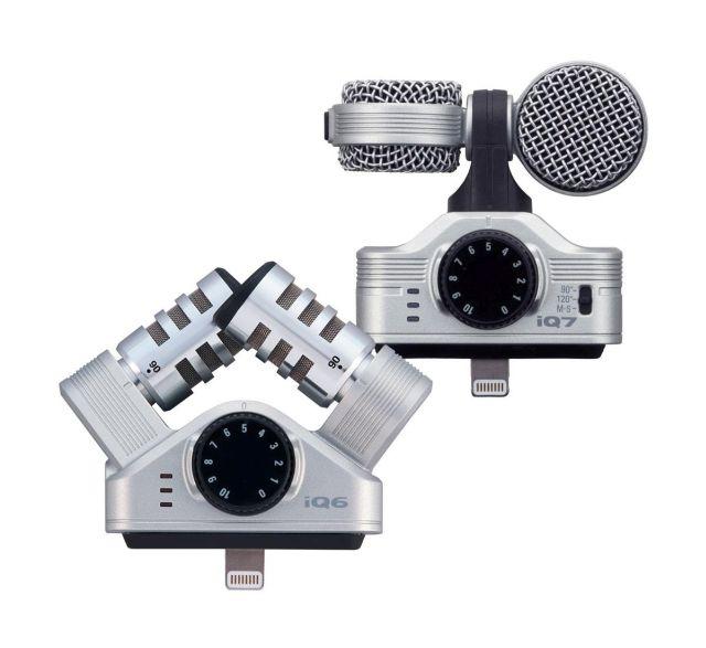Zoom iQ6 & iQ7 – mini-test modułów mikrofonowych