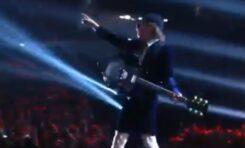 AC/DC zagrali podczas rozdania nagród Grammy 2015
