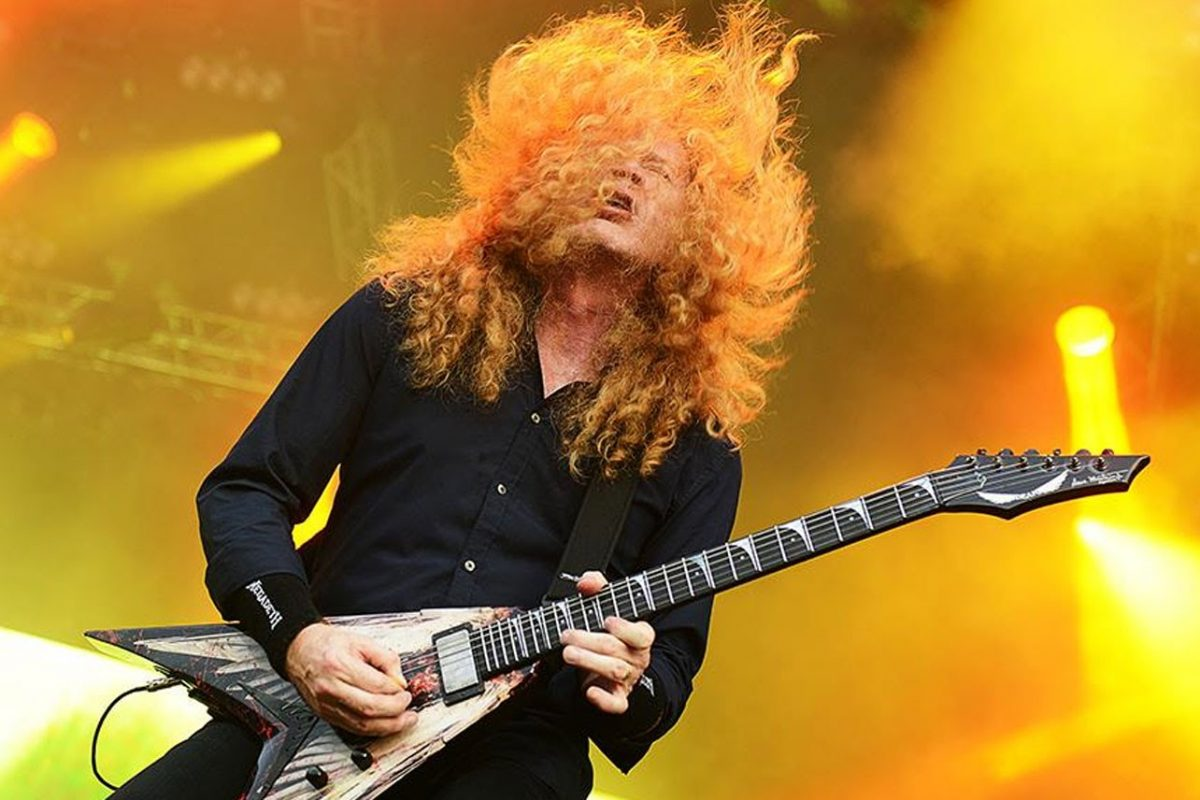 Dave Mustaine o przetwornikach Seymour Duncan i gitarach Dean