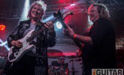 Jennifer Batten i Stu Hamm zagrali w Krakowie i Bochni