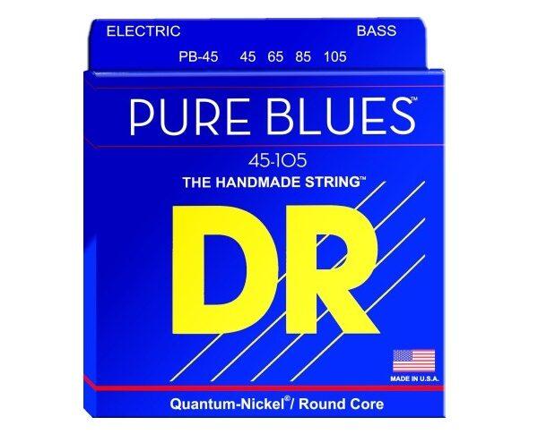 Struny basowe DR Pure Blues