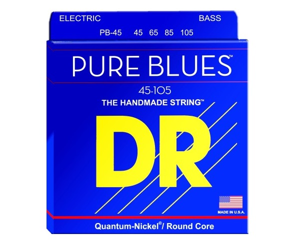 Struny basowe DR Pure Blues