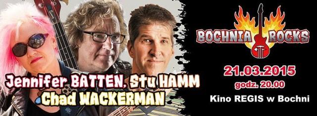 Batten/Hamm/Wackerman zagrają w Bochni