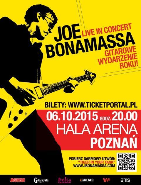 Kończą się bilety na Joe Bonamassę w Poznaniu