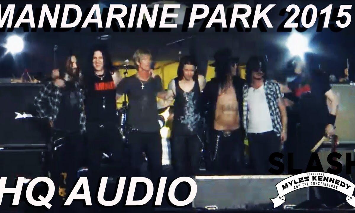 Slash zagrał z muzykami Guns N' Roses