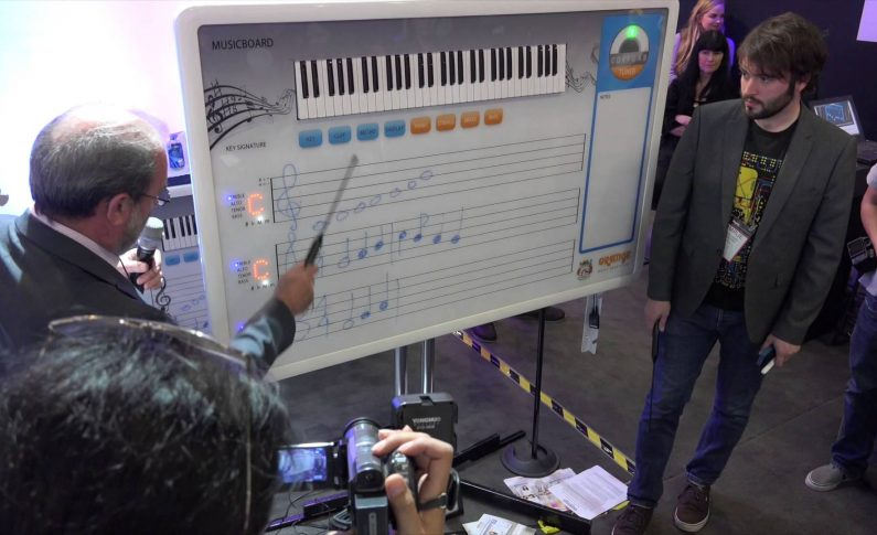 Muzyczna tablica Orange Musicboard