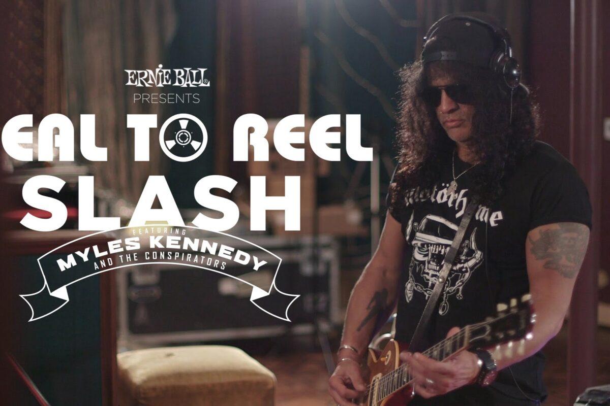 Ernie Ball prezentuje dokument o nowej płycie Slasha