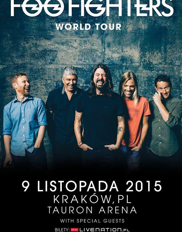 Wygraj bilety na Foo Fighters w Krakowie
