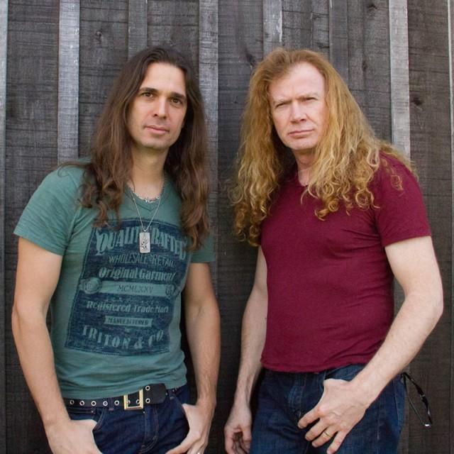 Dave Mustaine chwali nowego gitarzystę Kiko Loureiro