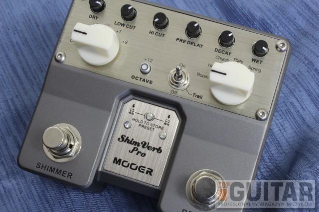 Mooer ShimVerb Pro – test efektu gitarowego