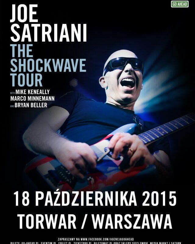 Joe Satriani na warszawskim Torwarze