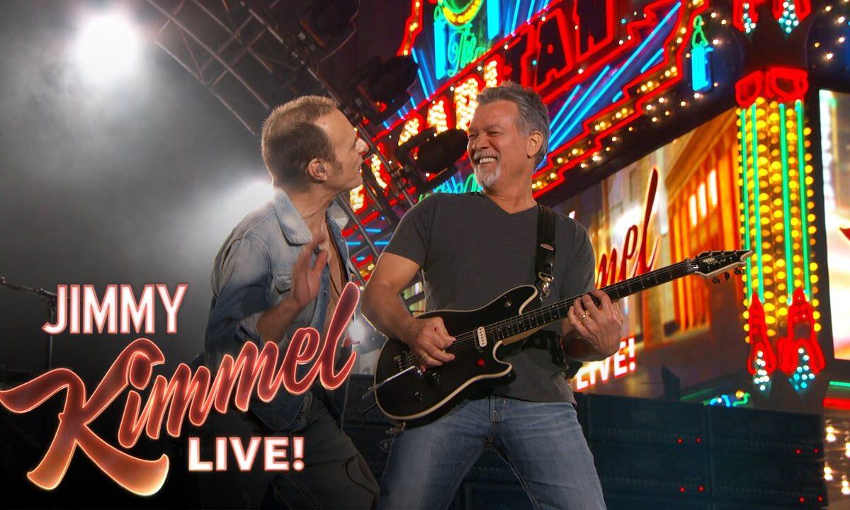 Van Halen w Jimmy Kimmel Live