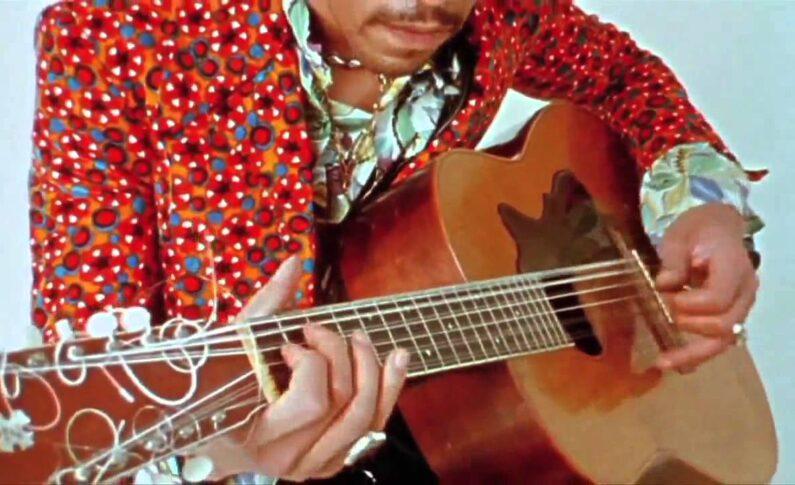 "Jimi Hendrix ""Hear My Train a Comin'"""